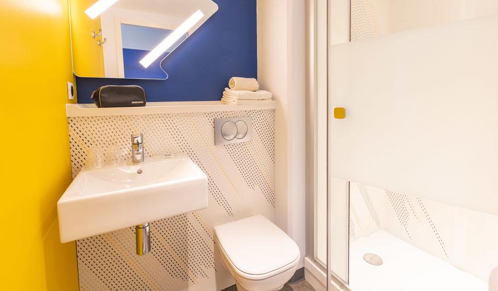 Chambres doubles   Hôtel Rennes IBIS Budget