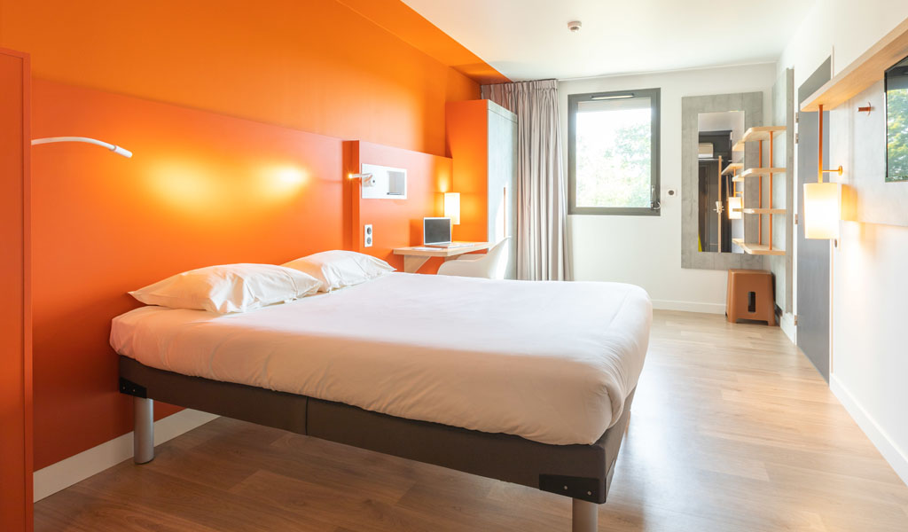 Chambres PMR   Hôtel Rennes IBIS Budget