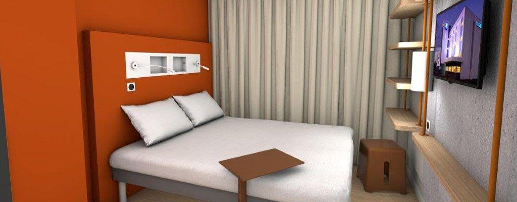 Chambres Famille | Hôtel Rennes IBIS Budget