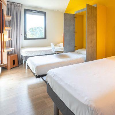 Chambres | Hôtel Rennes IBIS Budget